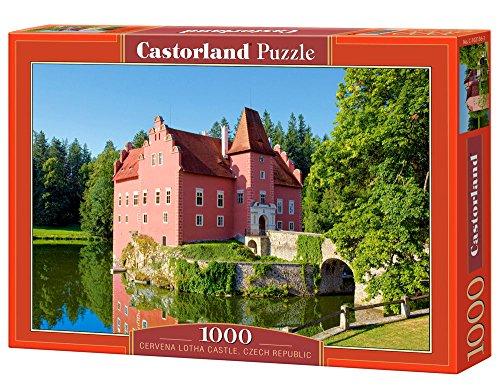 Castor 102136 - Castello Cervená Lhota, Repubblica Ceca - Puzzle 1000 pezzi