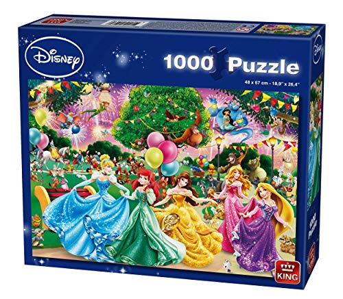 King - Disney Feuerwerk Puzzle (1000 Teile)