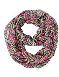 HDE Women's Lightweight Infinity Scarf Circle Loop Lightweight Pattern Neck Wrap