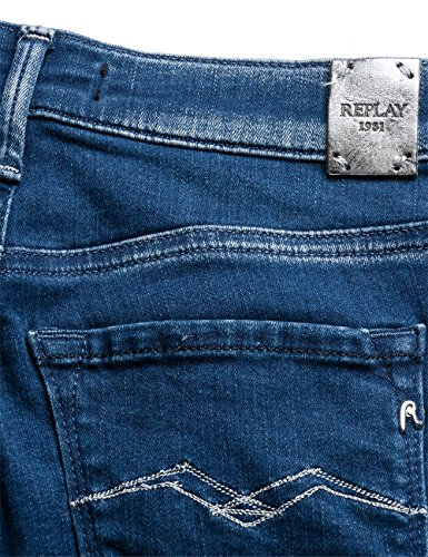 Replay Damen Jeanshose Joi Blau (Blue Denim 10)