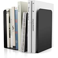 STARVAST 2Pcs Serre-livres en Métal,Serre-livres en Forme de L 8 x 4 x 5.4Inch,Serre-livres Heavy Duty Métal…