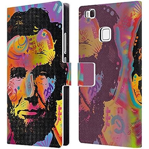 Ufficiale Dean Russo Abraham Lincoln IV Leader Famosi Cover a portafoglio in pelle per Huawei P9 lite / G9 Lite