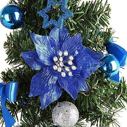 Vektenxi-Knstlicher-Weihnachtsbaum-Handgemachte-Mini-Schreibtisch-Weihnachtsbaum-Festival-Miniatur-Baum-fr-Home-Office-Weihnachtsdekoration-1-STCK-Blau-Langlebig-und-Praktisch
