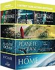 Coffret Yann Arthus-Bertrand - Planète Océan + La soif du monde + Home + Méditerranée, notre mer à tous