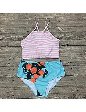 Presidente split bañador _ rayas, split TREND Traje de baño es moderno y cómodo estilo bikini, camiseta de rayas...