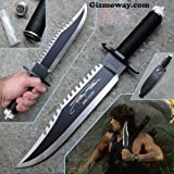 #6: Rambo First Blood Part 2 Sylvester Stallone Signature Knife