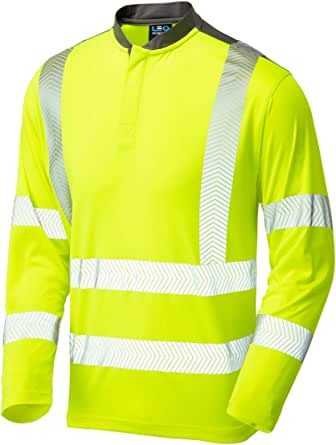 LEO Watermouth Class 3 Performance Sleeved T-Shirt in Two Colours (ISO 20471)