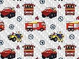 Baumwolljersey Feuerwehrmann Sam 4,...