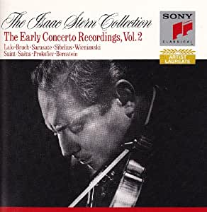 the isaac stern collection, the early concerto recordings, volume 2