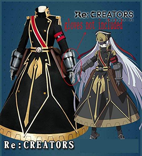 Skylynn--Anime Re:CREATORS spielzeug rolle Altair cosplay Kostüme Halloween cosplay,die Handschuhe sind nicht enthalten, mailen Sie uns Ihre Größe (XL (Altair Cosplay Kostüm)