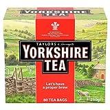Yorkshire Red Tea loose Tea 8.8oz Foil Bag by Taylors of Harrogate