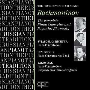 Rachmaninov: Complete Piano Concertos, Paganini Rhapsody