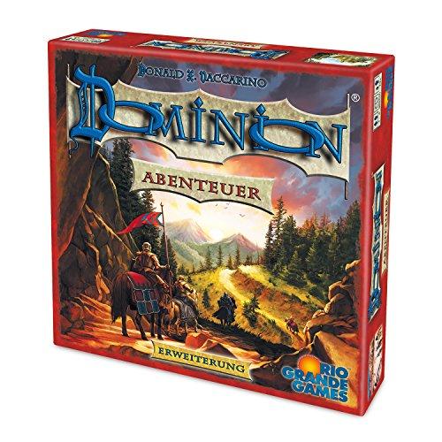 Preisvergleich Produktbild Rio Grande Games 22501408 - Dominion Erweiterung, Abenteuer