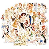 Sexy Women Stickers Pack Laptop Stickers Bomb Beauty Pinup Girls Stickers and Decals...