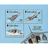 Gibraltar Bloque 38 (completa.edición.) 1999 Aviones de combate (sellos para los coleccionistas)