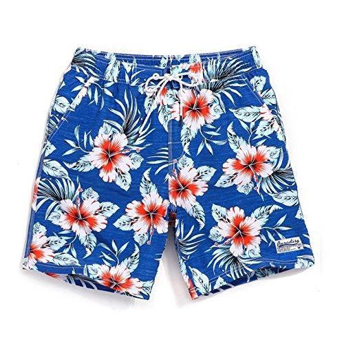 Stretch Beach Herren Hose Plus Größe Blume Hosen Shorts Bright Shorts mit Einlagen, Herren, XXX-Large (Boardshorts 44 Hurley)