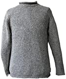McLaughlin's Irish Shop Herrenpullover aus 100% irischer Tweed-Wolle