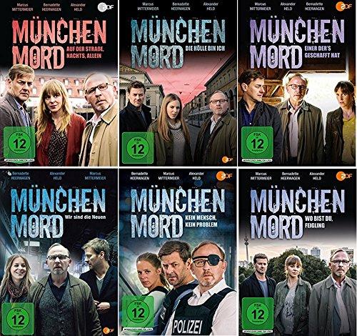 München Mord 6 Filme Paket [6 DVDs] -