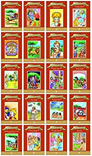 Moral Stories (Set of 20 Story Books for Kids with pictures)
