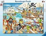 Ravensburger Rahmenpuzzle 06165 Angriff der Piraten, Multicolor