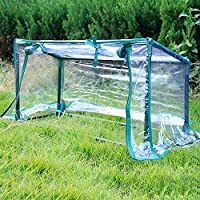Daily Necessities Portable mini greenhouse, a plant growing tent with a transparent protective cover, Garden plant greenhouse, For garden outdoor backyard