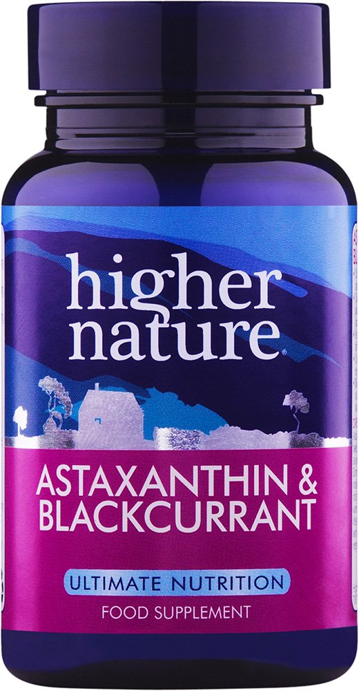 611Glrt7XZL - Higher Nature Astaxanthin & Blackcurrant - 30 Capsules