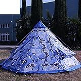 Outdoor-camping-Zelt für zwei Personen/Camping winddicht/ Regen/2Menschlichen kleinen Tarnzelt-A