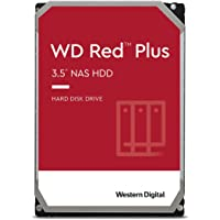Western Digital WD Red Plus 4TB 128MB 3.5 Zoll SATA 6Gb/s - interne NAS Festplatte (CMR)