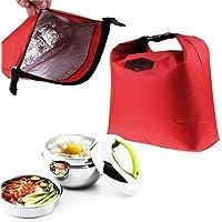 Ducomi Foodie – Sac isotherme pour aliments et aliments avec fermeture éclair et poignées – Idéal pour repas au sac et à…