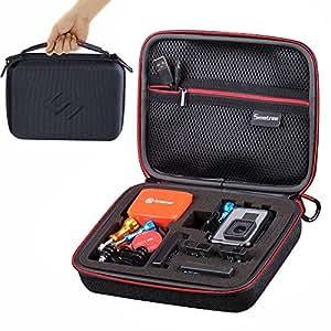 Smatree G160 Étui de transport pour Gopro Hero 6/5/4/3+/3/2/1 (caméra et accessoires non inclus)