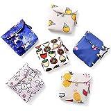 BUIDI Portaoggetti per Asciugamani da Donna Borsa da Viaggio per Cellulare, Custodia per assorbenti, Portamonete, Portamonete