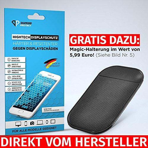 DiamondProtect Flüssiger Displayschutz für iPhone, Samsung & Alle Anderen Handy Modelle Härter & RESISTENTER Gegen Displayschäden. 5 6 7 8 Plus X Galaxy S6 S7 S8 Edge Note A3 A5 A7 iPad