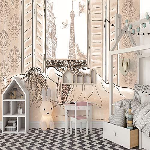3D Gedruckte Wandfotos Kunst Poster Drucken Dekor Sexy Frau Wandbild Wandaufkleber Wohnzimmer Schlafzimmer Dekoration350Cm(W) X256Cm(H)-7 Stripes