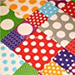 Premier Dog Patchwork Polka Dot Dog Bandana / Scarf - Small to Medium