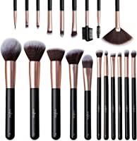 Make Up Pinsel Set 20 Stücke Anjou Professionelles Schminkpinsel Gesicht Augen Lippen Kosmetikpinsel-Set Foundation...