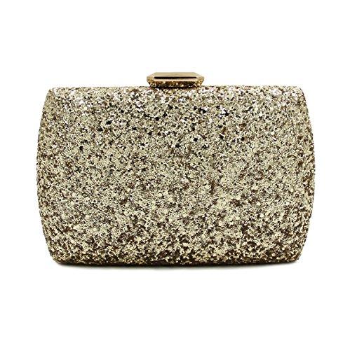 WYB Europa und Diamant-Abendtasche / Kupplung / high-grade voller Diamanten Abendbeutel / Handtaschen Bankett Diamant Gold