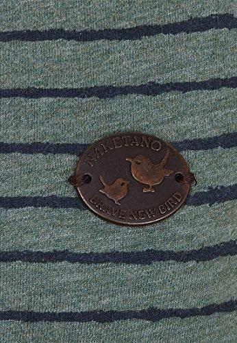 Naketano Female Shortsleeve Muschipimmelschwanzpussy III Heritage Forrest Melange