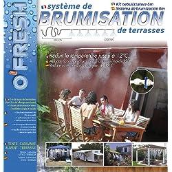 O'FRESH 020 Brumisateur de terrasse 6 m avec 6 buses