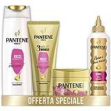 Pantene Pro-V Ricci Perfetti, Set composto da Shampoo capelli ricci 225ml, Balsamo Capelli 3Minute Miracle150ml, Maschera Cap