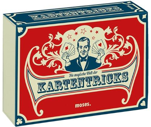 moses. Die magische Welt der Kartentricks | 33 Zaubertricks mit Karten | Inkl. 32 Blatt Skat-Kartenset