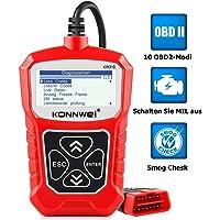 KONNWEI KW310 OBD2 Diagnosegerät Universal Auto Diagnosegerät Automotor Fehler-Code Scanner für 16-Pin OBDII/EOBD/CAN…