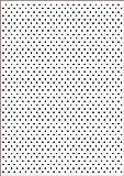 Darice Carpetas de estampación, Plantilla Punto, Plastic, 29,7 x 21 x 0,3 cm