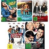 Elyas M´Barek Spielfilm Set 1 (Fack ju Göhte, Türkisch für Anfänger, Offroad, Heiter bis wolkig, Männerhort) - Deutsche Originalware