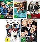 Elyas M´Barek Spielfilm Set 1 (Fack ju Göhte, Türkisch für Anfänger, Offroad, Heiter bis wolkig, Männerhort) - Deutsche Originalware [ 5 DVDs]