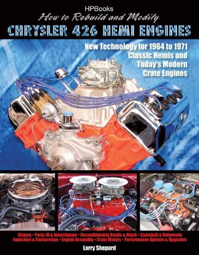 How to Rebuild and Modify Chrysler 426 Hemi EnginesHP1525: New Technology For 1964 to 1971 Classic Hemis and Today's Modern Crate Engines by Larry Shepard (2007-09-04)