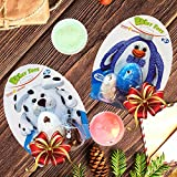 Modelling Clay for Kids Air Drying - Best Modelling Dough Set for 2 Toys - Cute Dalmatian Puppy & Penguin - 2 Bonus Jars of Colourful Foam Clay
