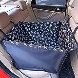 Dog coprisedili auto Lenezaro Pet seggiolino auto antiscivolo impermeabile viaggio amaca sedile posteriore Protector taglia universale per tutte le auto camion SUV con tariffa cane cintura di sicurezza (60x 50x 35cm)