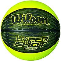 Wilson Hyper Shot I Balón, Negro/Lima, 7