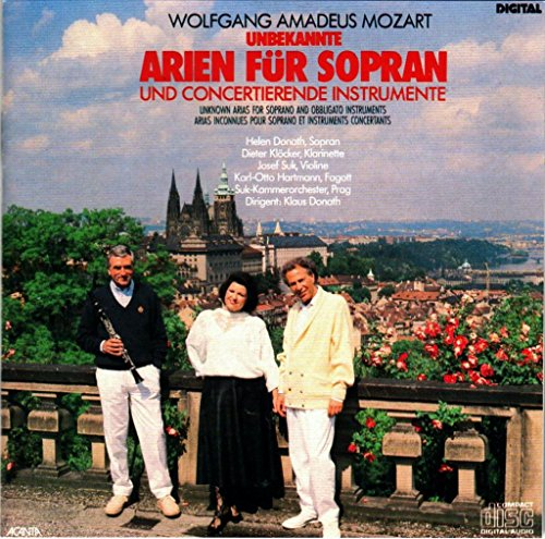 Unknown Arias for Soprano & Concertante Instrument