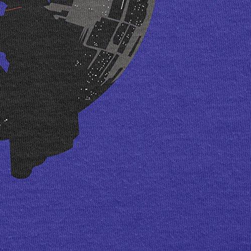 TEXLAB - Darthworks - Herren Langarm T-Shirt Marine